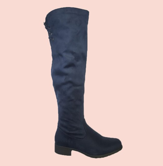 Ladies Long Boots Navy Buy Online