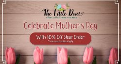 Promo: Mother's Day 2019 – Get 10% Off Your Next Order