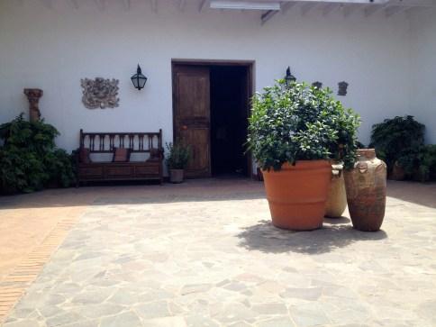 courtyard // museo larco