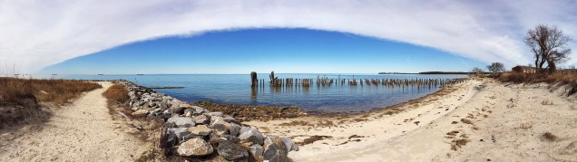 14 Cape Charles Beach Panorama
