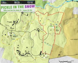 Snow Pickle Map
