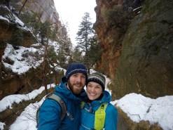 Refrigerator Canyon Selfie