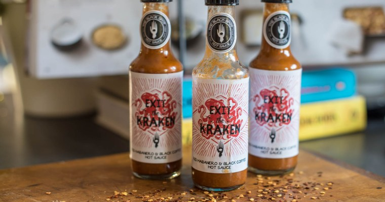 {PRODUCT REVIEW} BLACK SPOT HOT SAUCE I: Exit the Kraken