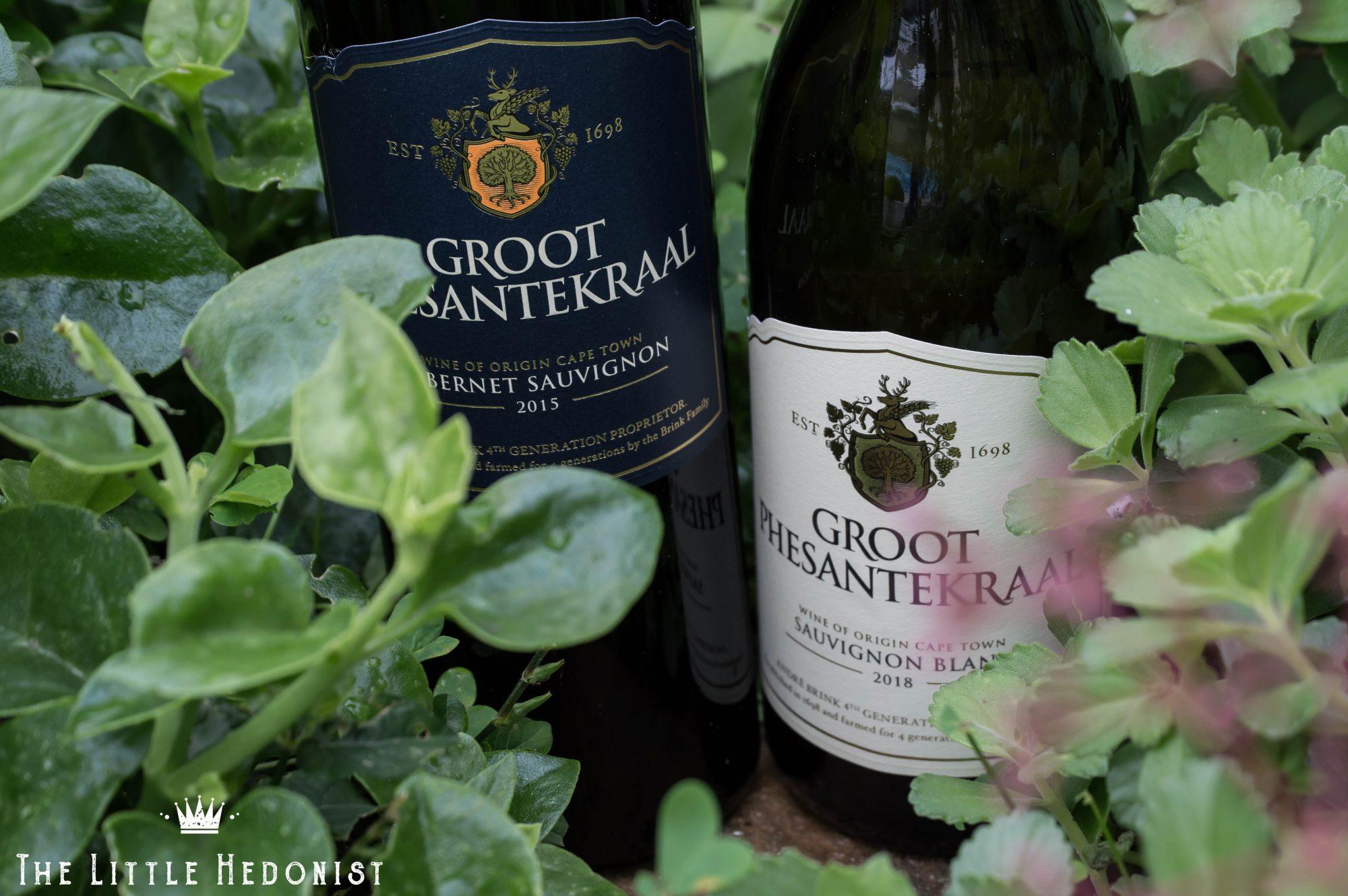 {WINE REVIEW} Groot Phesantekraal wines