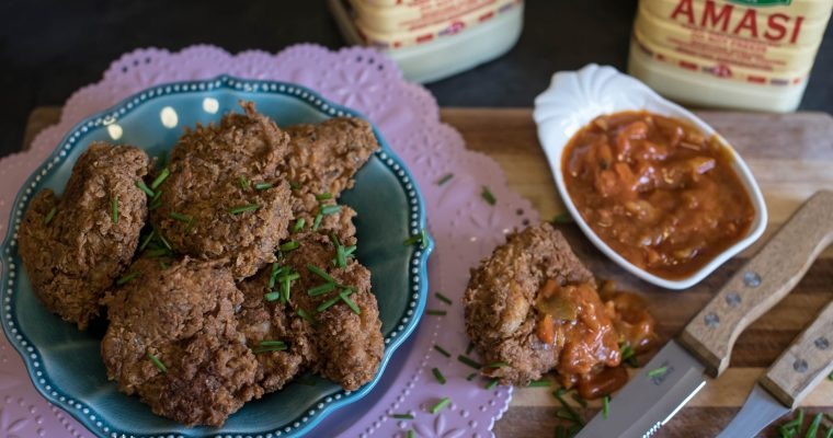 {PRODUCT REVIEW}{RECIPE}{Part 1/3} Spiced amasi chicken wings
