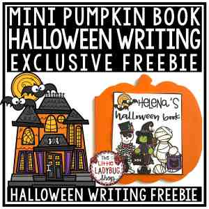Pumpkin Writing Freebie