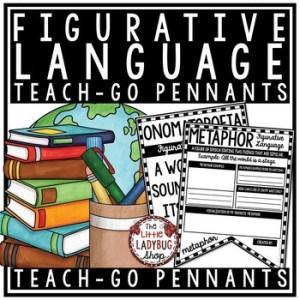 Figurative Language Activities Poster Pennants