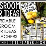 Affordable Classroom Decoration Ideas The Little Ladybug Shop