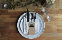 5 RUSTIC PLACE SETTING IDEAS. | the little lending company