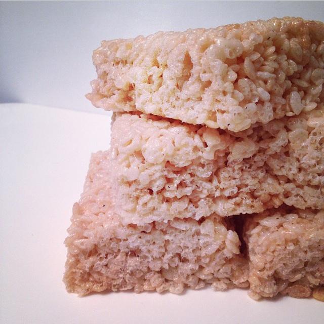 The Little Loft - rice krispies squares
