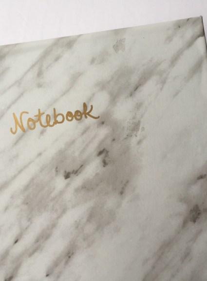DIY Marble Notebook