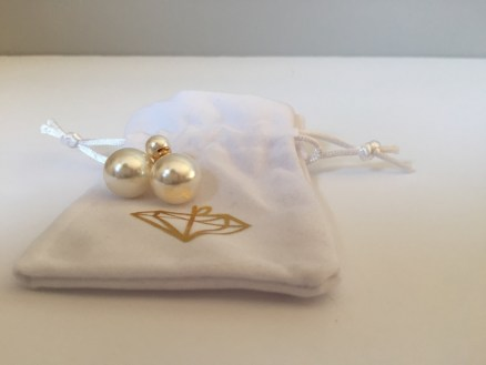 The Little Loft - Pearl Earrings