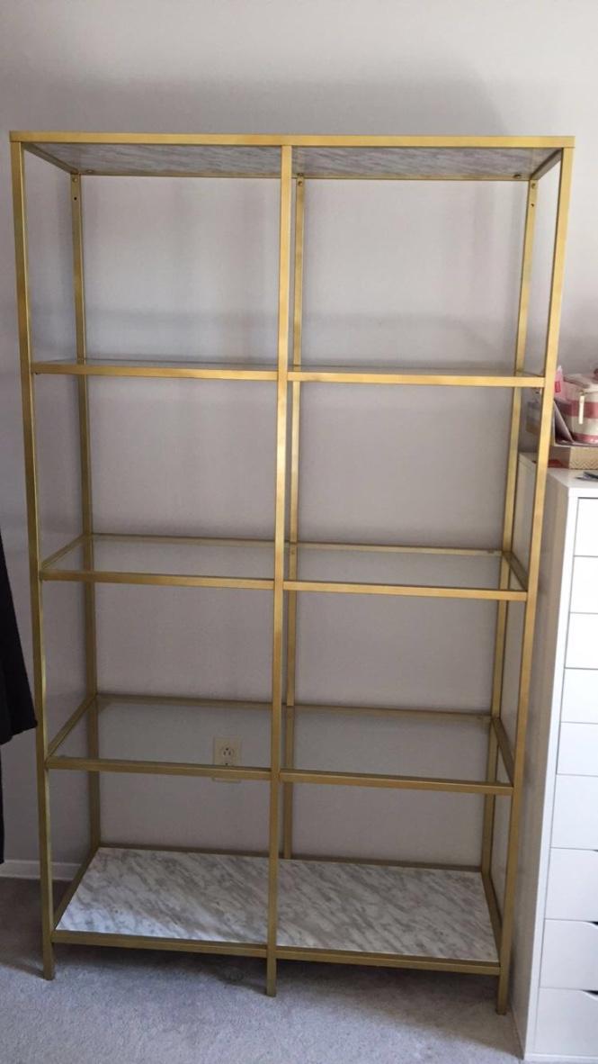 Ikea Vittsjo Gold