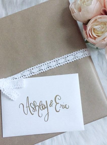 DIY Wedding Gift Box