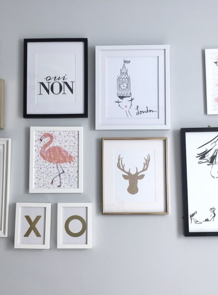 DIY Wall Art Gallery