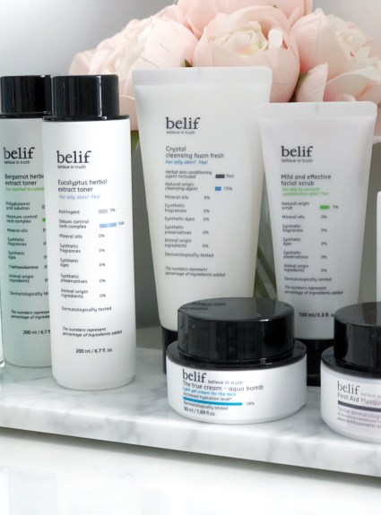 Daily Skincare Routine with Belif