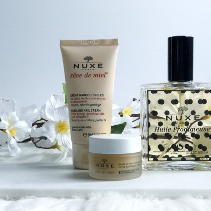 Nuxe Rêve de Miel and All Things Swell