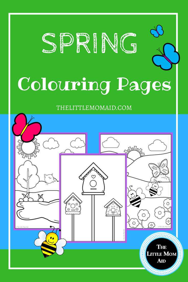 Amazing Free Spring Colouring Pages Sketch - Framing Coloring Pages ...