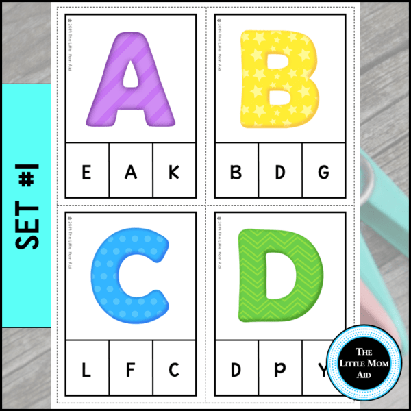 Alphabet-Activity-Match-Uppercase-Letters