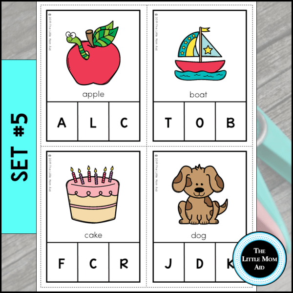 Alphabet Activity Beginning Sounds
