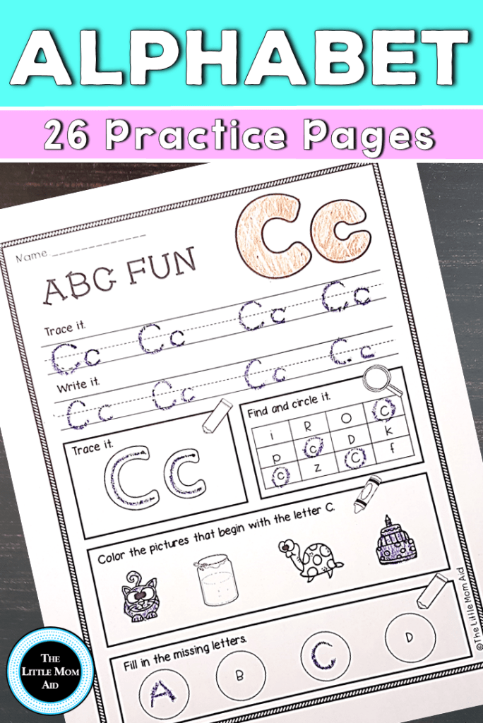 Alphabet Worksheets and Pages