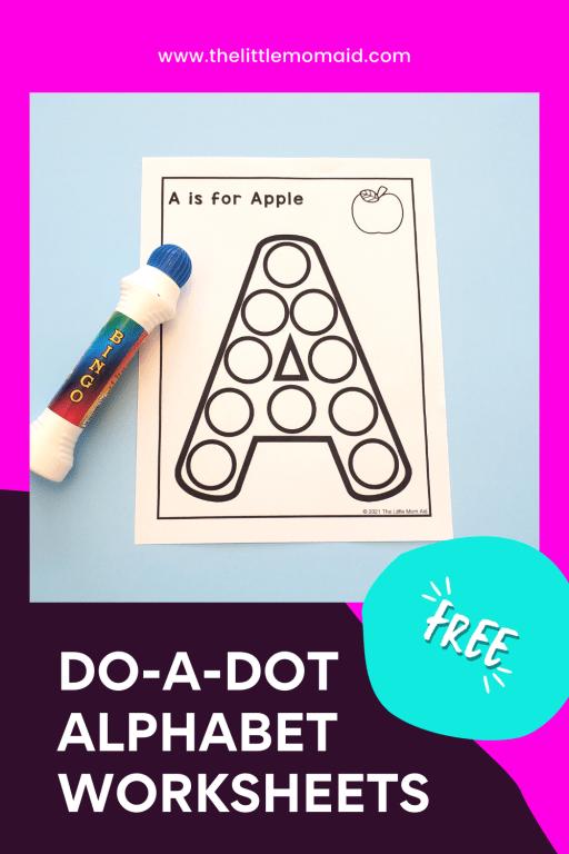 do-a-dot alphabet printables
