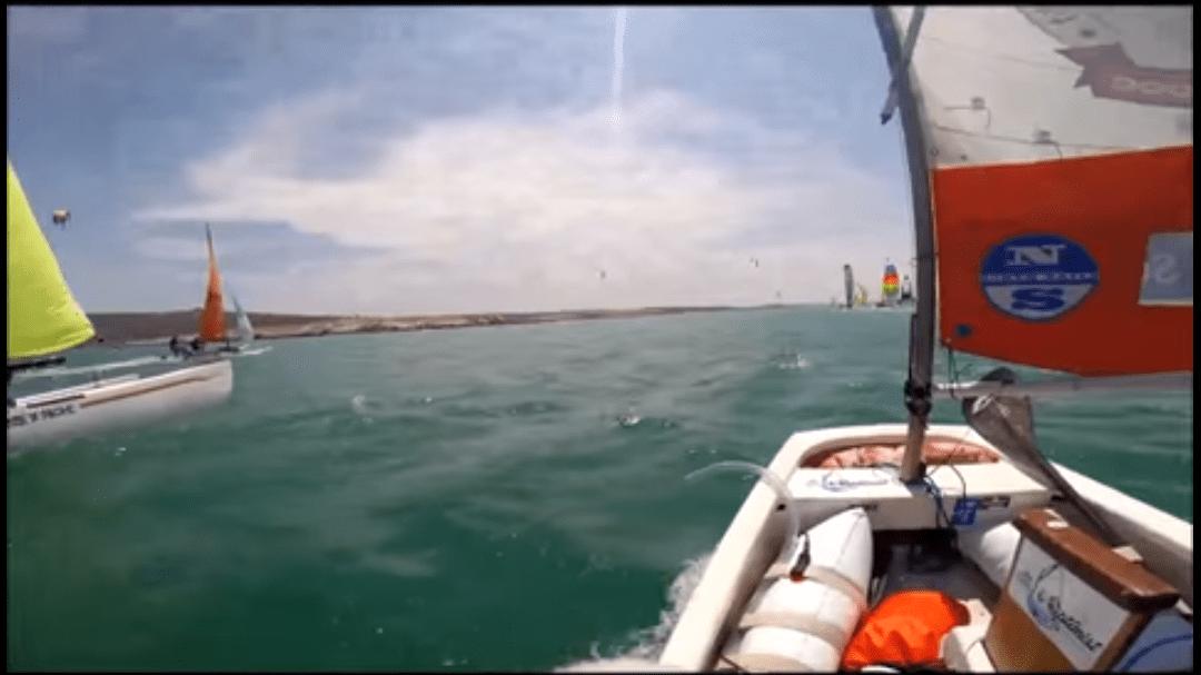 The Little Optimist Adventures : Downwind Dash With Greg Bertish