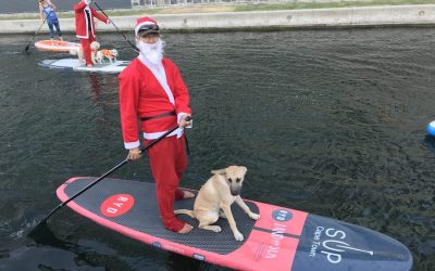 Local paddlers do their bit for children in need this Christmas | The South African