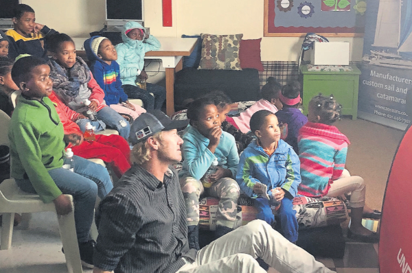 Young patients treated to movie – Tygerburger News