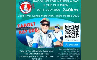 PADDLING 4 MANDELA & THE CHILDREN!