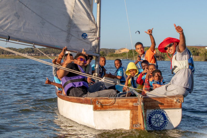 Charity Sailing Day event