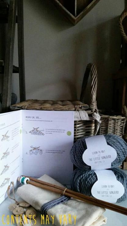Knitting Kit Contents