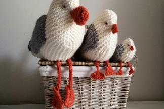 Our Knitted Seagulls