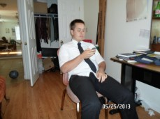 Elder Sanders when I left my camera in their apartment