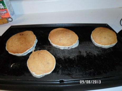 Raspberry Blueberry Pancakes!!!!