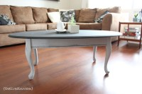 Chalk Paint Coffee Table  {thelivedinroom}