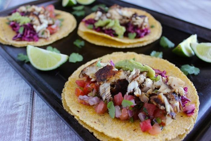 Skinny Fish Tacos