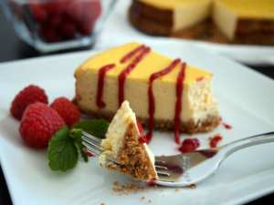 The Best Low-Fat Cheesecake...EVER!