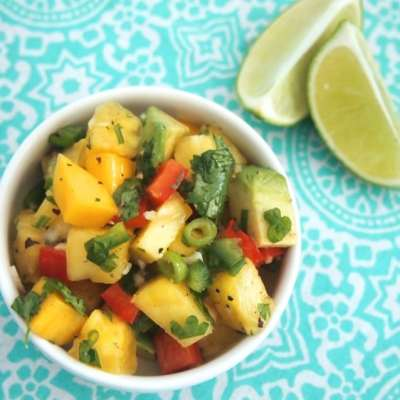Pineapple Mango Salsa ♡