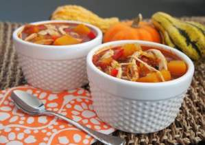 Pumpkin Chili with Chicken!