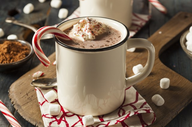 Skinny Peppermint Hot Cocoa