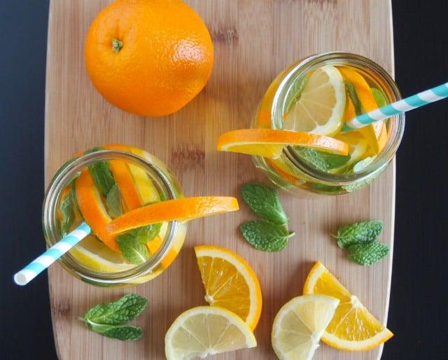 Cirtus Mint Infused Green Tea