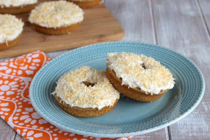 Toasted Coconut Donuts