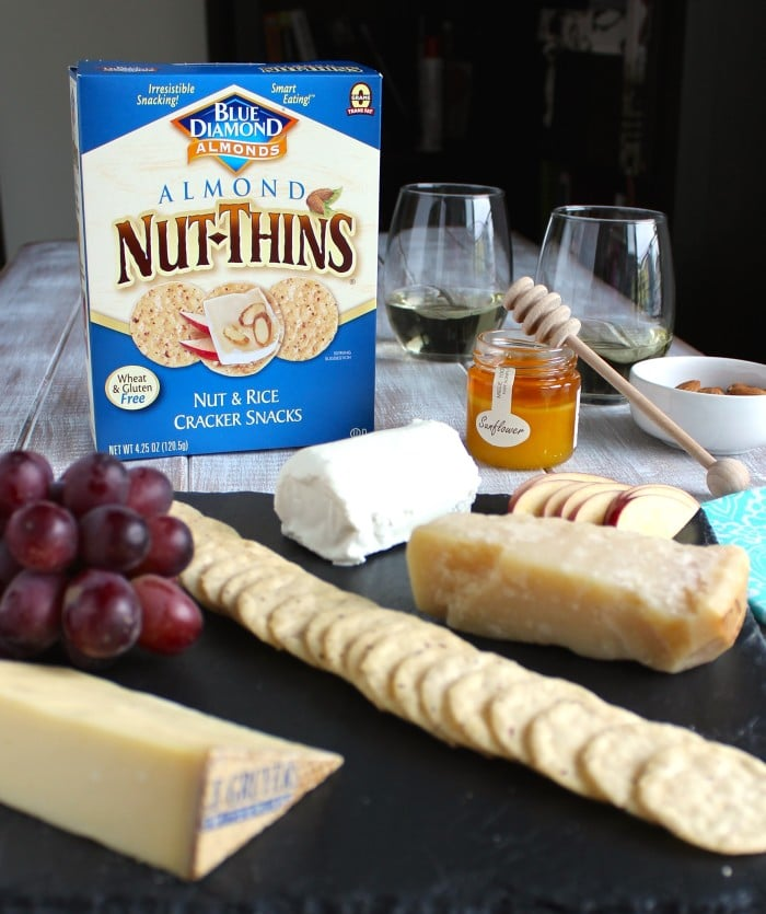 Healthy Cheese Board