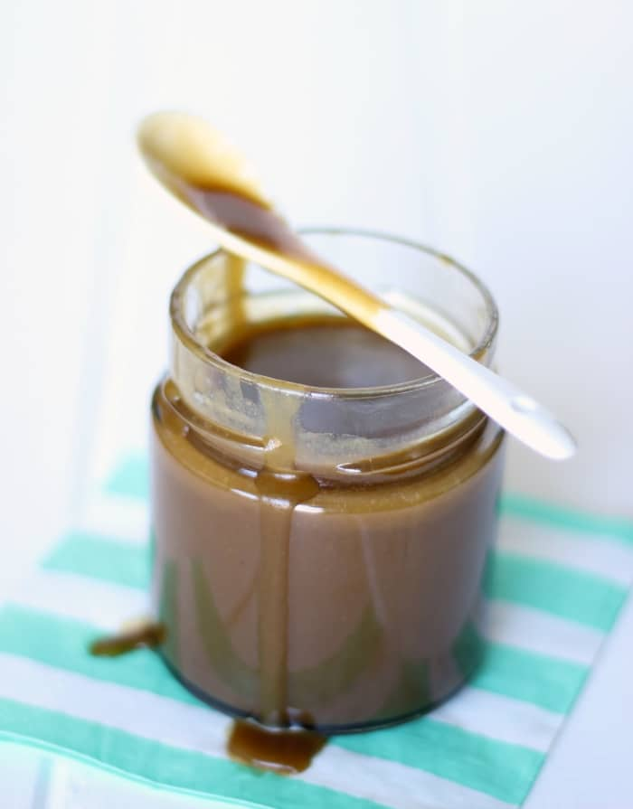 Skinny Caramel Sauce