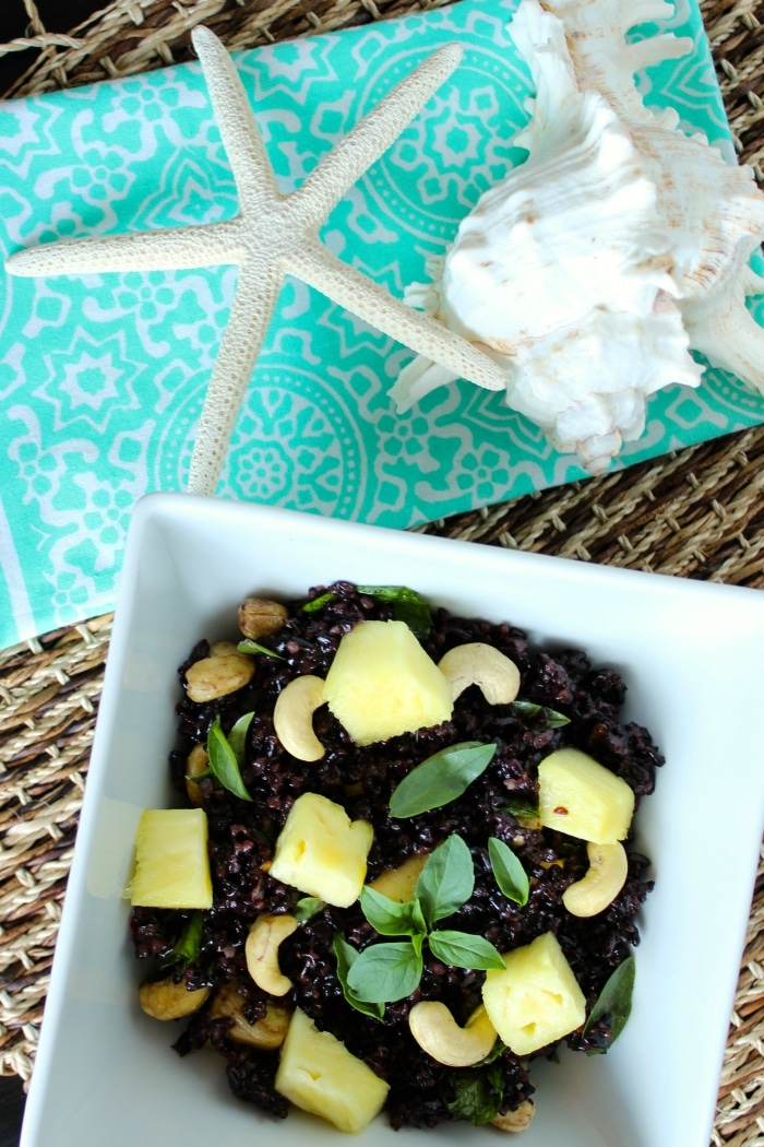 Thai Pineapple Black Rice 4