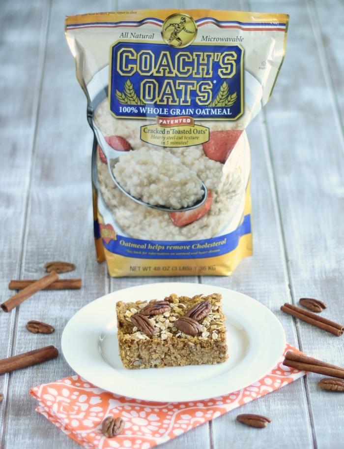 Coach's Oats Pumpkin Spice Baked Oatmeal