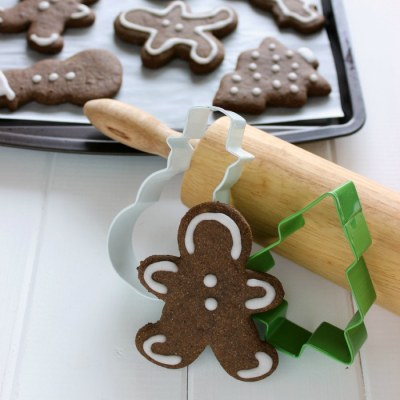 Skinny Gingerbread Cookies
