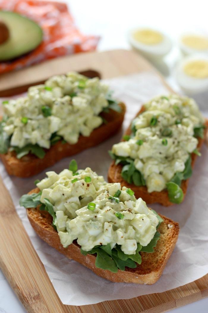 Egg White & Avocado Salad