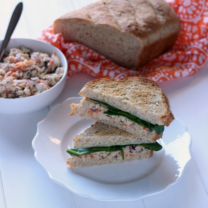Tuscan Tuna Salad